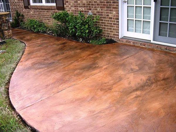 Hoe maak je een outdoor betonnen terras schilderen u wkinl